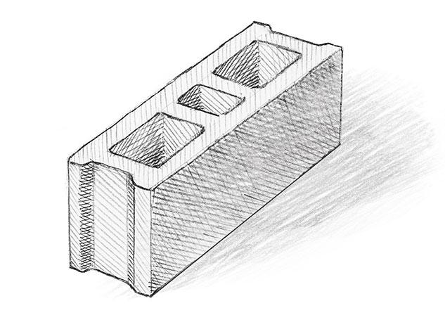 Бетоново блокче V2. вибропресови бетонови изделия-Монтана